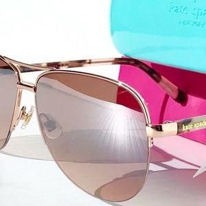 Kate Spade Sunglasses Rose Gold
